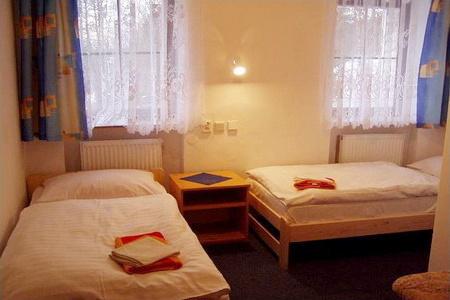 Ubytování Jizerské hory - Penzion v Bedřichově - pokoj